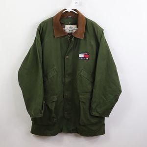 90s Tommy Hilfiger Mens Large Lined Hunting Jacket
